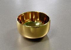 ◆雲龍リン 本金メッキ 2.8寸