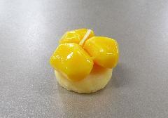 ●和菓子キャンドル 栗かのこ 故人の好物ローソク 【カメヤマ】