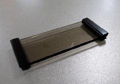 ●ガラス仏器膳 紫檀 5.0寸