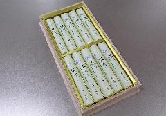 ★煙の少ないお線香 茶花 短寸10把入 桐箱