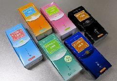 ◆煙の少ないお線香 2種詰合せ 残香飛・残香飛ブラック・煎香茶・一期香・文々香・ダブルミント香