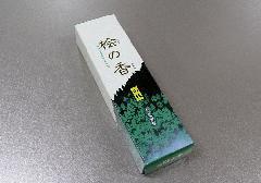 ■煙の少ないお線香 桧の香 約27g入 【大発】