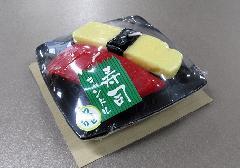 ●寿司キャンドルA マグロ・玉子 サビ入 故人の好物ローソク 【カメヤマ】