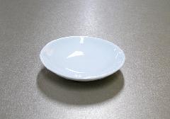 △白皿 4.5寸×1ケース(10枚入)