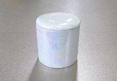 ●骨壺・骨壷 シリコン付骨カメ 2.0寸 ラスター白