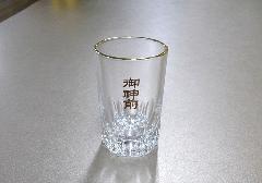△ガラスコップ 御神前 大×1ケース(12ヶ)