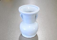 ●花瓶・花立 大玉仏花 白無地 4.0寸 NZ