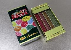 □サクマドロップス ミニ寸線香 【カメヤマ】