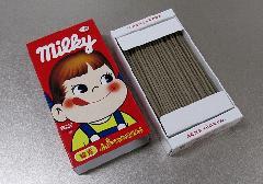 □不二家ミルキー ミルキーの香りのミニ寸線香 【カメヤマ】