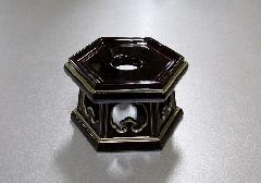 ●PC 六角リン台 溜面金 2.5寸