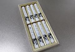 ■進物用有煙線香 香樹林 短寸8把入 桐箱 【玉初堂】