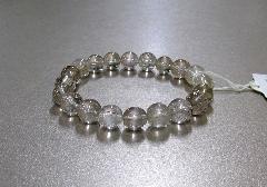 □天然石ブレス 針水晶・ルチル10�o