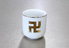▲湯呑 卍 1.6寸×1ケース(20ヶ)