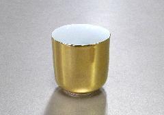 ▲湯呑 総金・惣金 1.8寸×1ケース(20ヶ)