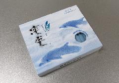 ○凛楽 56本入 天然海藻配合 潮の香りのローソク 【丸叶むらた】