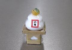 ■鏡餅キャンドルS 故人の好物ローソク 【カメヤマ】