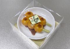 ■みたらし団子キャンドル 故人の好物ローソク 【カメヤマ】