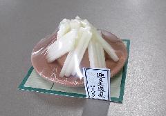 ■送り火・迎え火ローソク 故人の好物ローソク 【カメヤマ】