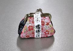 ■古代友禅 縮緬小紋 がま口財布 ※在庫処分特価品
