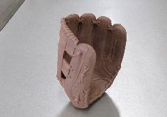 ◆副葬品 故人の愛用品 野球グローブ