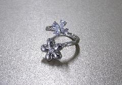 ●遺骨収納リング・指輪 リングフラワー