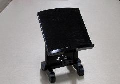 ●本黒檀見台 3.0寸 摺漆仕上