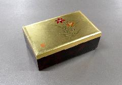 ●金箔工芸品 銀河小箱 大 ゆり