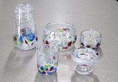 ●オリジナルガラス仏具 5具足 サワー