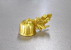 ■ろーそく消し 京菊ミニ火消し 金色 合金 日本製