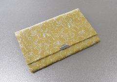 ○念珠袋・数珠入 古渡緞子 黄