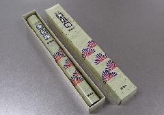 ●煙の少ないお線香 麝香紫紅梅 長寸1把入