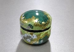 ◇和の色 金属製御香用蓋付香炉