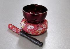 ◆リンセット なごみリン2.5寸ワインフチ金・リン布団飛鳥・リン棒飛鳥