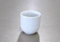 ◆湯呑1.5寸 白無地 (敬) ※訳アリ特価品