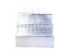 ◇後飾り段 アルミ箔張り後飾り台 3段 × 10ヶ