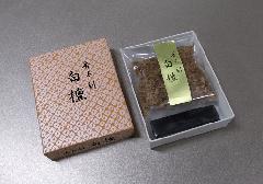 □焼香セット 香木刻 白檀10g 香炭入(二回分)