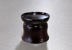 ◆紫檀 丸仏器台 小