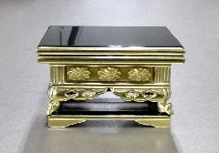 ■上前卓 3.5寸 前金彫入 東用 木製品 ※在庫処分特価品