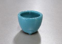 ■青磁 玉香炉 2.5寸 浄土真宗本願寺派(西)用香炉