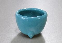 ★青磁玉香炉 3.5寸 浄土真宗本願寺派(西)用香炉