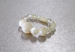 ◆白蝶貝・ルチル 指輪