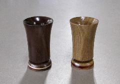 ■木製線香差し ミニ ナラと花梨・ウォールナットメイプルライン