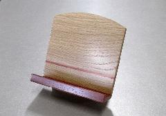 ◆木製低見台 ナラと花梨 3.5寸