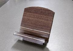 ■木製低見台 ウォールナットメイプルライン 3.5寸