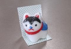 ●福びよりキャンドル 犬張子 【カメヤマ】