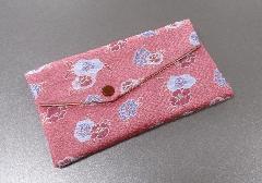 □念珠袋 西陣織 ピンク