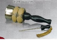 ◇佐波理 印金セット ばちマグネット収納式 3.0寸