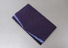 ◆ちりめん桜小紋金封ふくさ 紫 50100