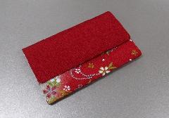 ◆念珠袋・数珠袋 水明 赤