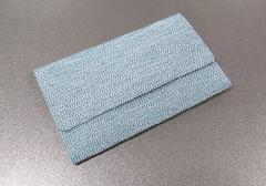 ◆念珠袋・数珠袋 彩り紬 青
